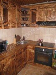 Кухни под старину из массива сосны