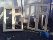 Продаем окна новые деревянные