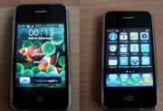 Клон IPhone 3g на 2 симкарты + карта памяти 1 ГБ