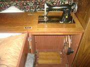 Швейная машинка Подольск ножной привод