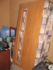 дверь мдф ламинированная под стекло