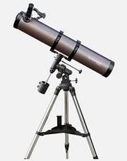 Мощный Телескоп рефлектор Bresser Galaxia 114/900 EQ