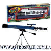 Телескоп для начинающих рефрактор Konus Konuspace 4