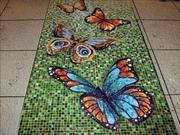 мозаика,  картины из мозаики,  дизайн интерьера в мозаике