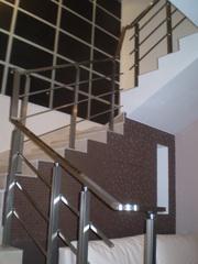 Продажа и расчет ограждений для лестниц,  балконов,  террас.