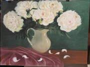 картины (масло, пастель)живопись, натюрморт, портрет.