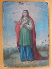 Продам икону Дарья-Великомученица.