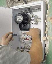 замена пробок на современные автоматические выключатели.услуги электрика.