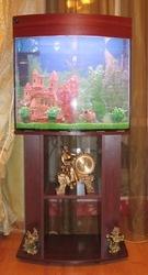 Продам аквариум на 90л. + тумба,  оборудование,  декорации.