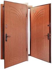 Изготовление металлических дверей. Входные двери.