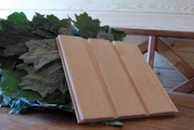 Вагонка деревянная. Ольха светлая (цвет липа)
