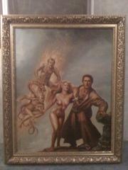 Продам картину очень красиваясо смыслом