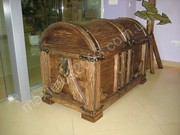 Мебель под старину из массива сосны