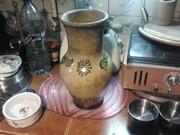 Антиквариат. Глиняная ваза.