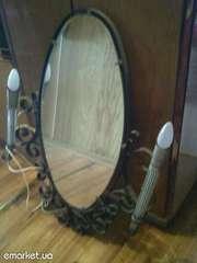 зеркало с бра в прихожую
