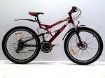 Горные двухподвесные велосипеды: Azimut: