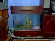 Продам аквариум на 80 литров б/у