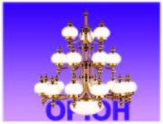 Люстры,  светильники «Orion Leuchtenfabrik»,  Австрия. Скидки до 40 %