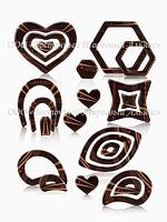 Формы для шоколада с переводным рисунком — Modecor