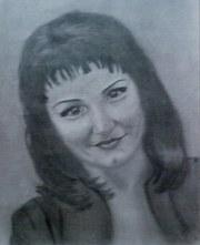 Портреты по фотографии,  карандаш