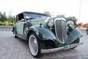 ретро автомобиль Audi на свадьбу