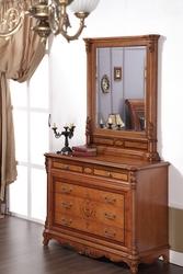 Будуарный столик + зеркало Елизаветта