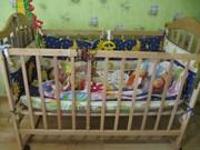 Детская кроватка + матрасс