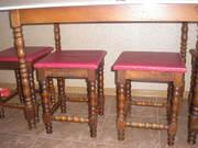 Продам стол и стулья Б/У Румыния:
