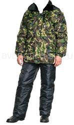 Продам костюм утеплённый  на синтепоне для охоты, рыбалки, охраны.Опт.