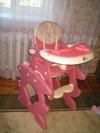 продам б/у стульчик - трансформер для кормления