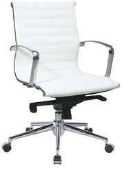 Кресло офисное Алабама,  черный или белый цвет! Скидка 5% в декабре!