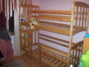 Двухъярусные детские кровати разных моделей