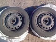 Продается 2 колеса зимних. Gislaved Eurofrost 3 175/65/14 на дисках