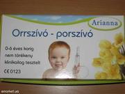 Назольный аспиратор (соплеотсос) для детей венгерской фирмы  arianna