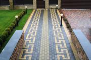 Тротуарная плитка ФЭМ Мариуполь,  прессованная,  литая
