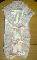Конверт-одеяло для новорожденной девочки