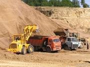 продажа и доставка сыпучих строительных материалов