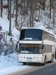 Аренда автобуса в Донецке,  Макеевке,  Горловке. Неоплан,  Скания
