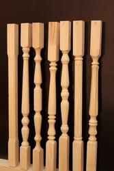 Элементы для деревянной лестницы
