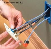 ремонт и установка розеток донецк