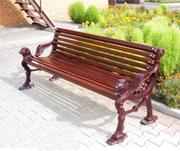 Элитные скамейки и другие изделия из художественного литья.