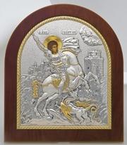 Православные  иконы из Греции (серебро,  позолота)