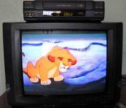 Телевизор SHARP+Видеомагнитофон TOSHIBA