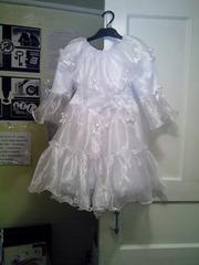 платье нарядное новогоднее на 4 - 6 лет