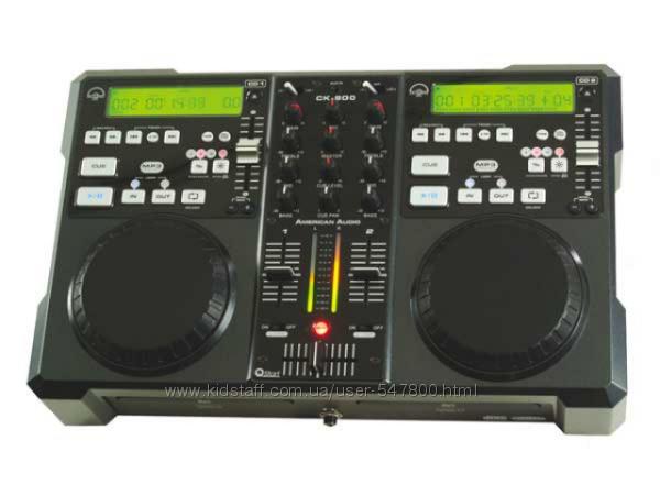 Профессиональный плеер-микшер American Audio CK-800 Mp3