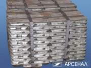 Цинк металлический первичный марки ЦВ,  Ц0А,  Ц0 (чушка). Постоянно на с