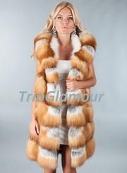 Модные женские жилетки из натурального меха. ПО ЛУЧШИМ ЦЕНАМ В ДОНЕЦКЕ