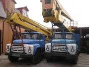 Продаем автовышки высотой 18,  22 м. Автогидроподъемники на базе ЗИЛ