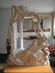 Изготовлю на заказ художественные резные деревянные изделия