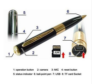 Ручка с скрытой камерой HD 720x480 Pen DVR Mini DV